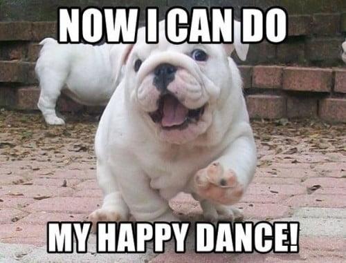 happy dance memes