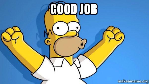 Faire ses propres boîtes cartons NEO GEO MVS Happy-homer-good-job-meme
