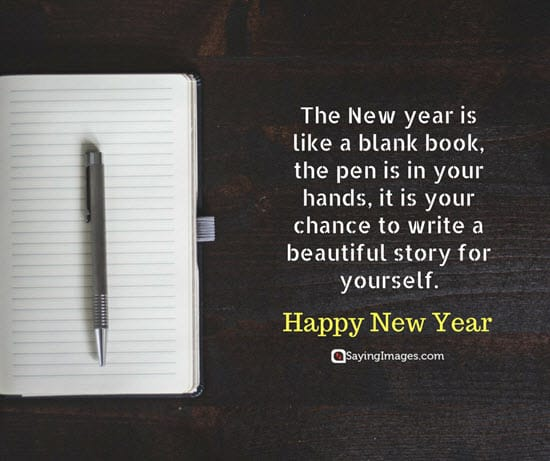 happy new year beautiful quote