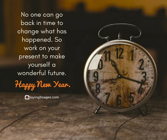 happy new year time wishes