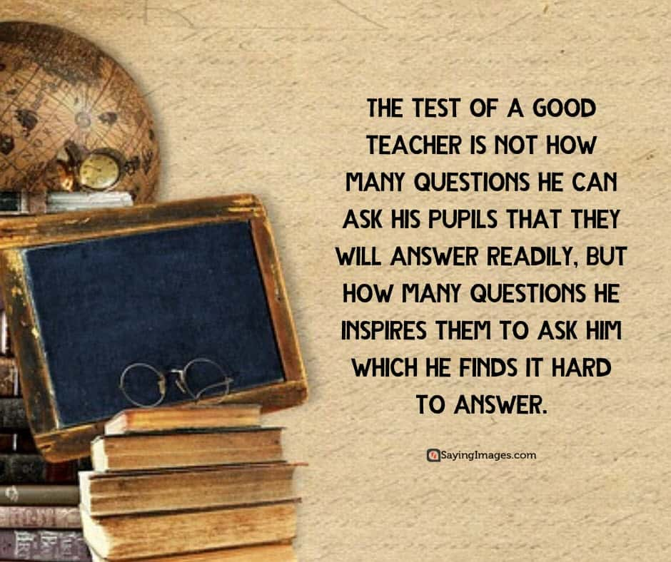 happy teachers day answer quotes