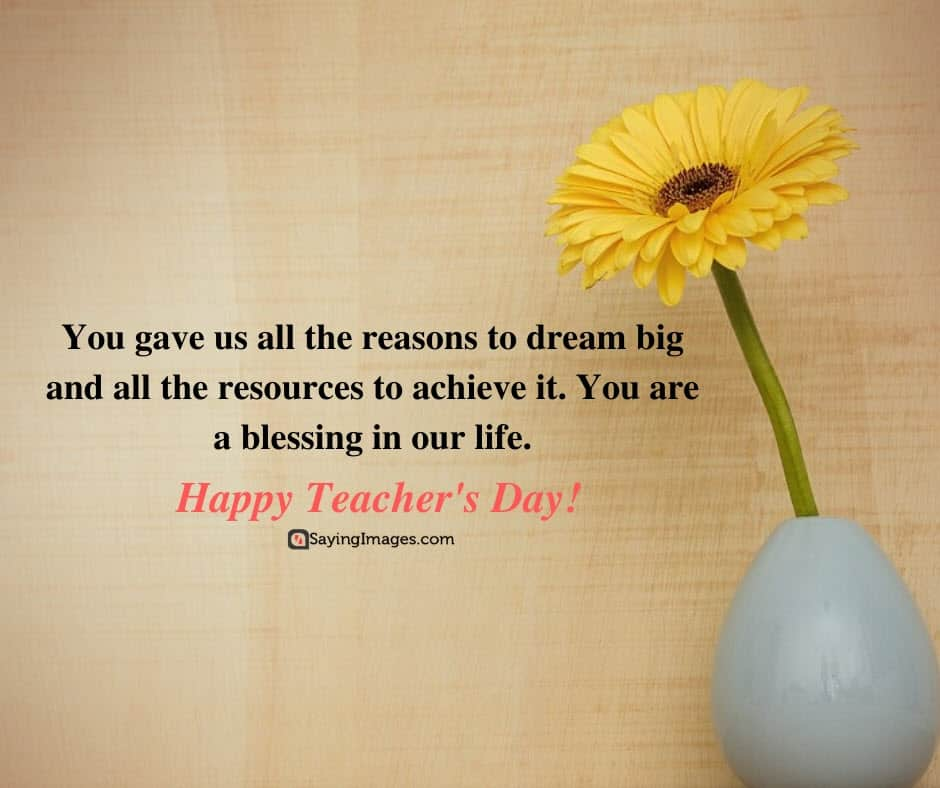 happy teachers day blessing quotes