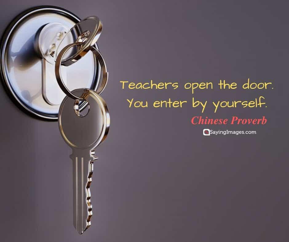 happy teachers day door quotes