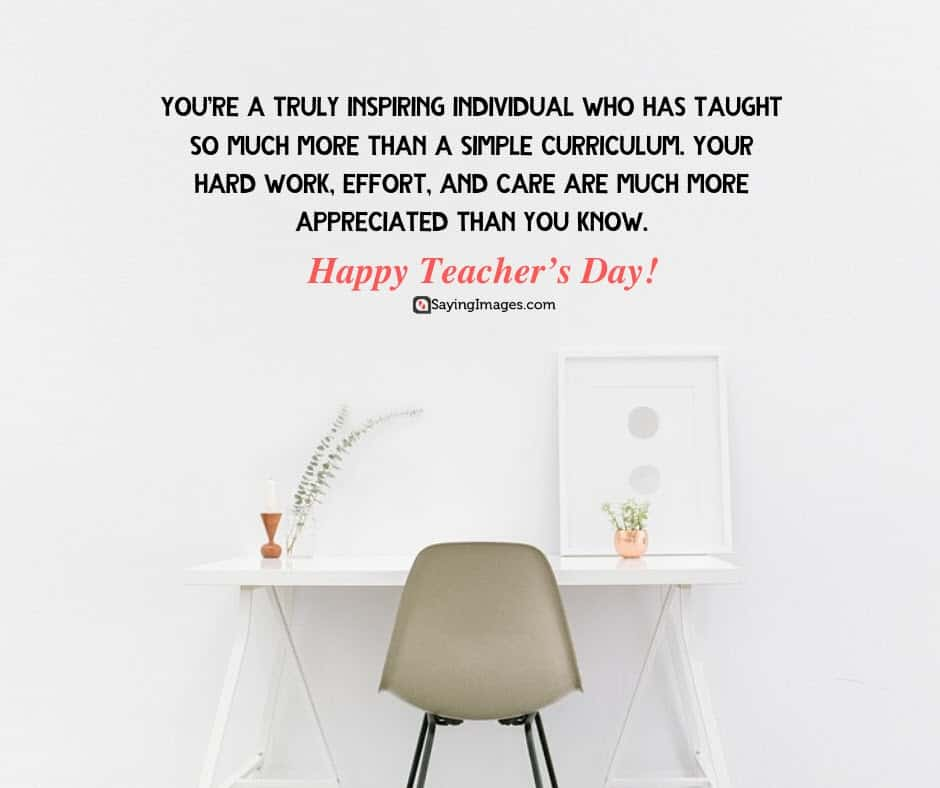happy teachers day inspiring quotes