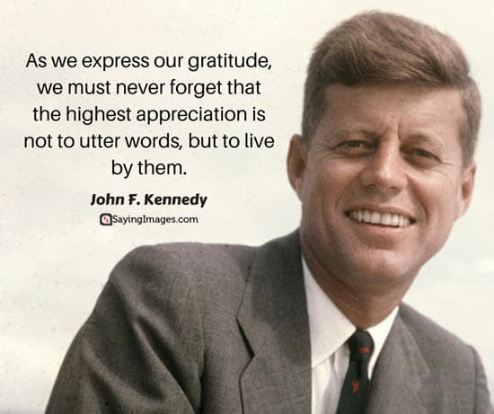 happy thanksgiving quotes kennedy