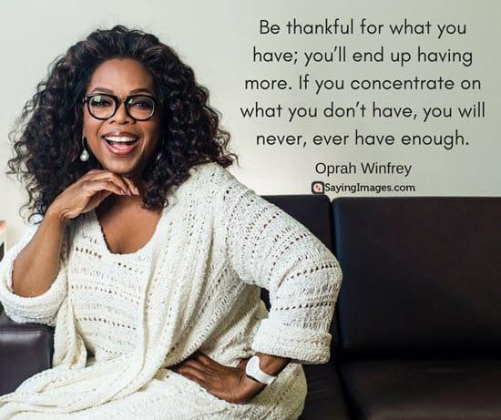 happy thanksgiving quotes oprah