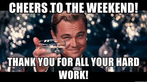 hard work cheers meme