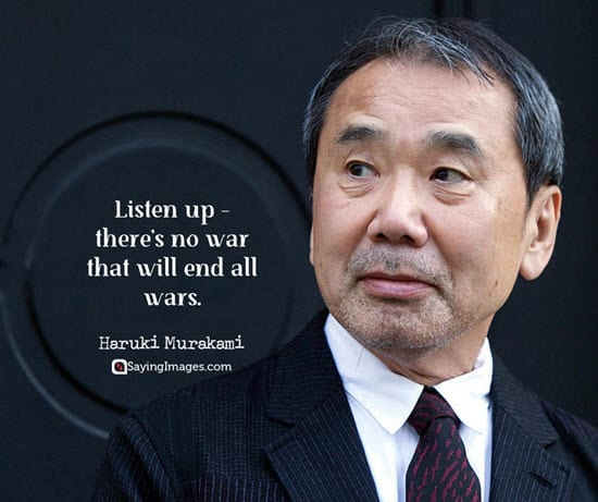 haruki murakami war quotes