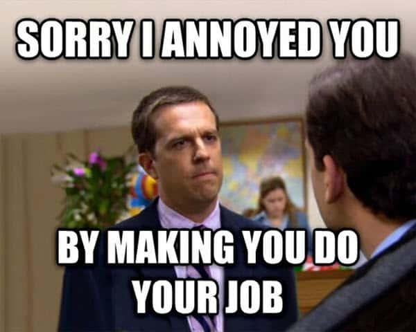 hate work annoyed meme