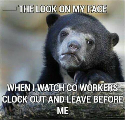 hate work co workers meme