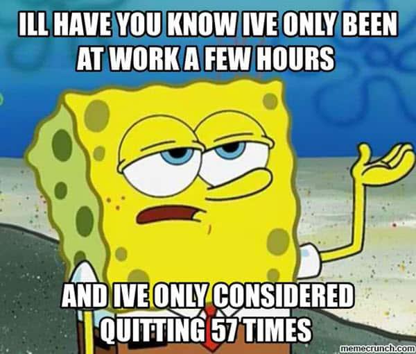 hate work quitting meme