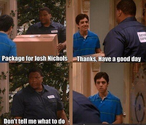 have a good day josh nichols meme