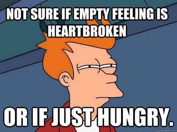 heartbroken empty feeling meme