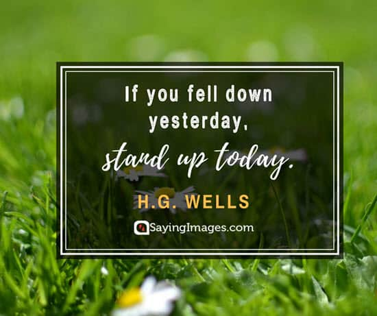 hg wells stand up quotes