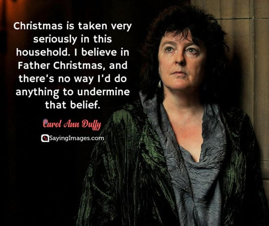 holiday season quotes carol ann duffy