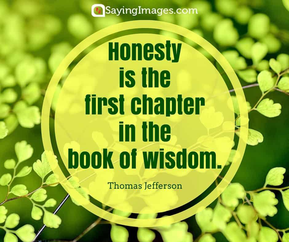 honest quote