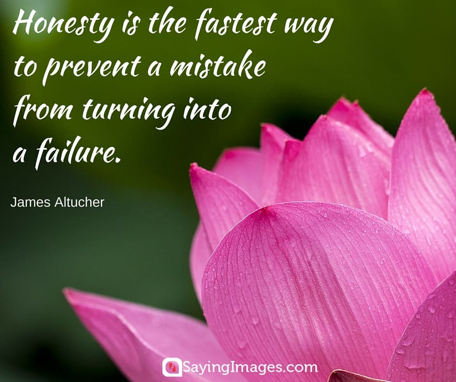 33 Honesty Integrity Quotes Sayingimagescom