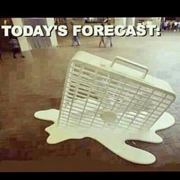 hot weather memes