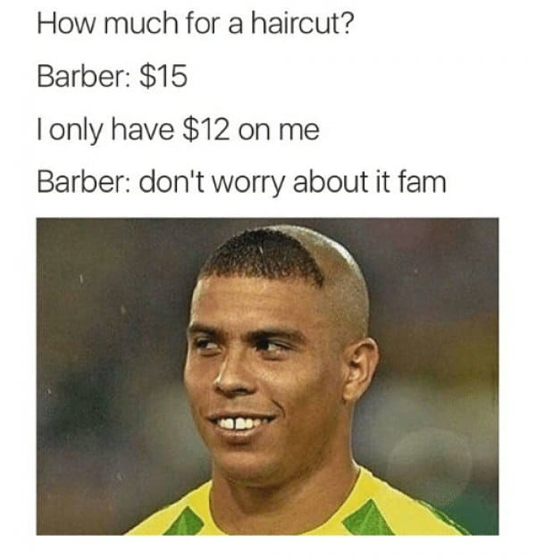 Remember to share your favorite haircut meme with everyone you are connected with on social media!