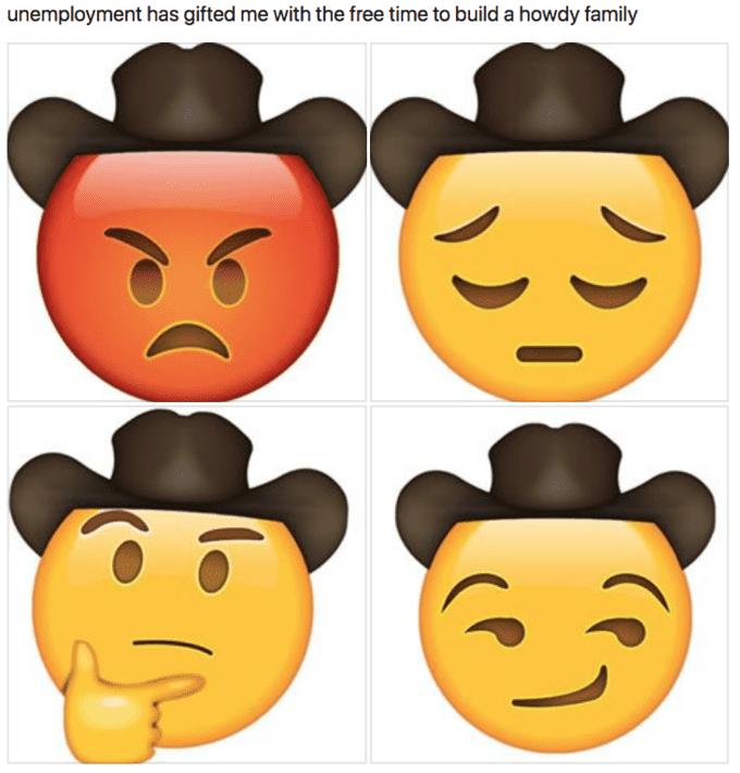 howdy yeehaw meme