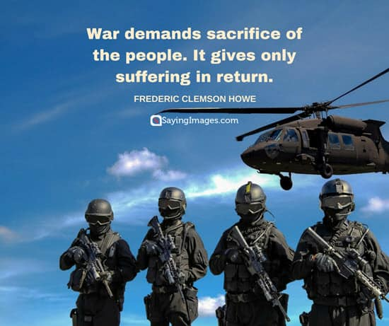 howe war quotes