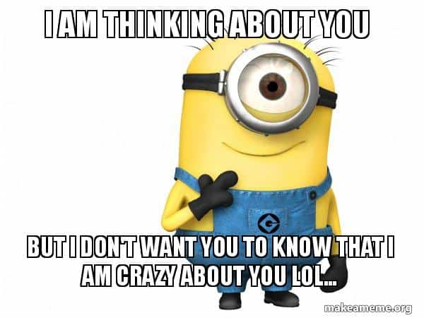 20 Super Sweet Funny Thinking About You Memes Sayingimagescom