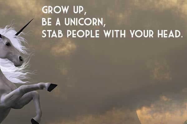i hate people be a unicorn meme