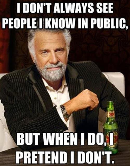i hate people in public meme