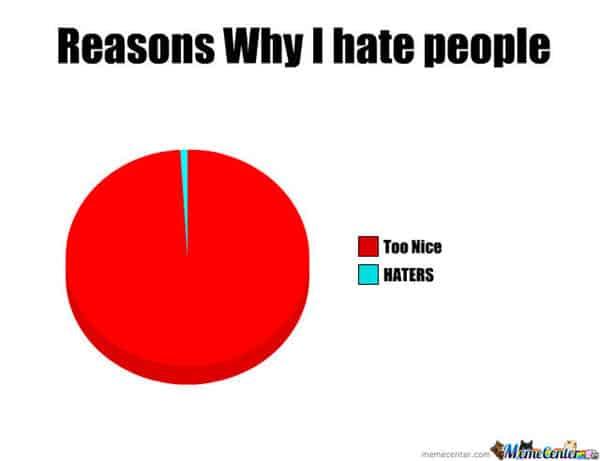 i hate people reasons why meme