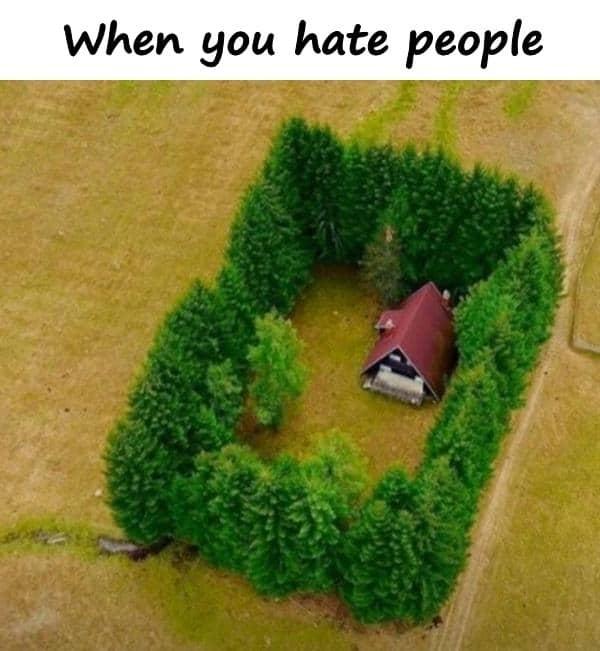 i hate people you meme