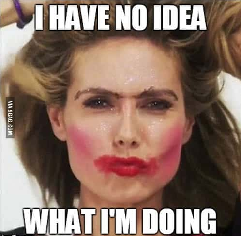 30 Hilarious Makeup Memes That Are Way