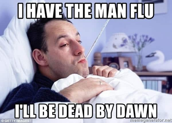 i have the man flu meme