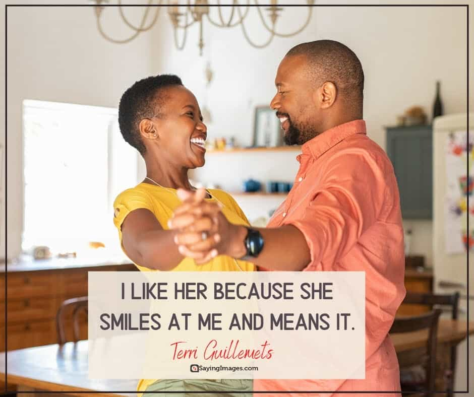 i like you smiles quotes