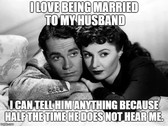 i love being married with my husband meme