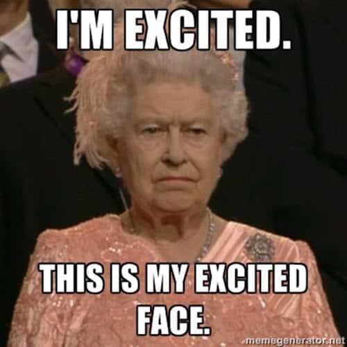 im so excited face meme