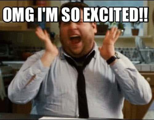 im so excited omg meme