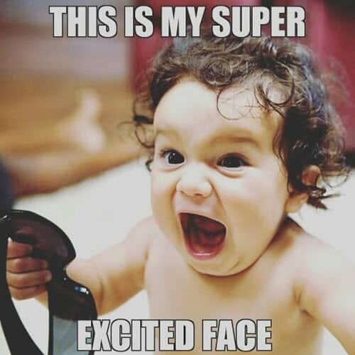 im so excited super meme