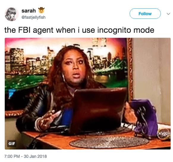 incogito fbi agent meme