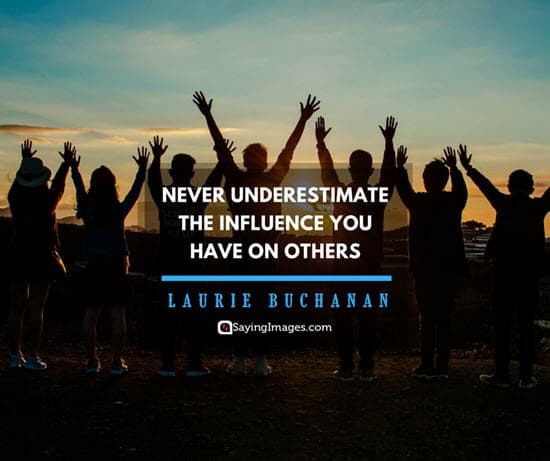 influence quote