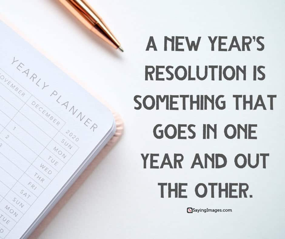 inspirational new years resolutions year