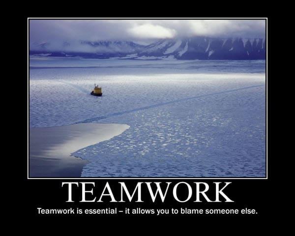 inspirational teamwork is essential memes