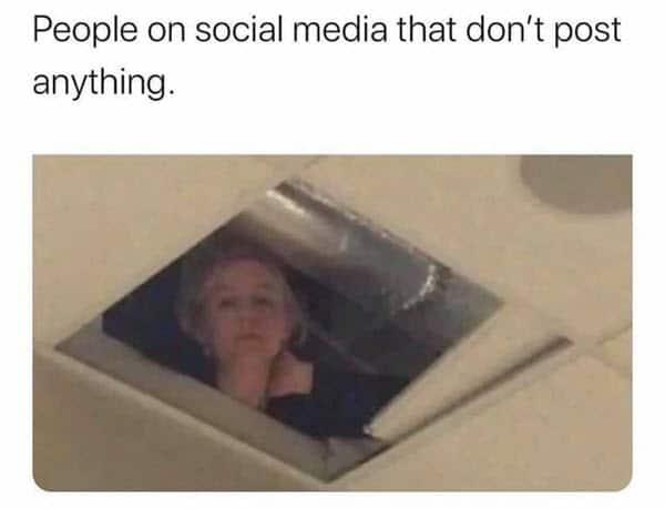 introvert social media meme