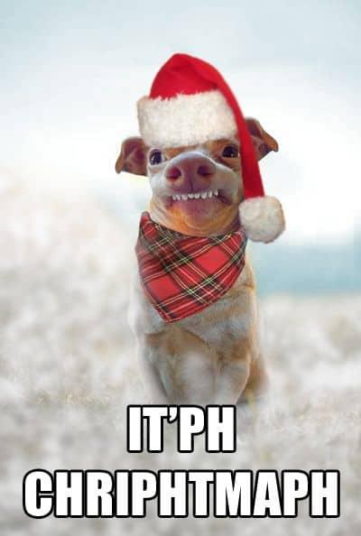 itph chriphtmaph - Funny Merry Christmas Meme