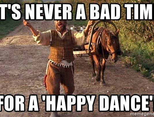 happy dance meme