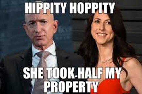 jeff bezos hippity hoppity memes