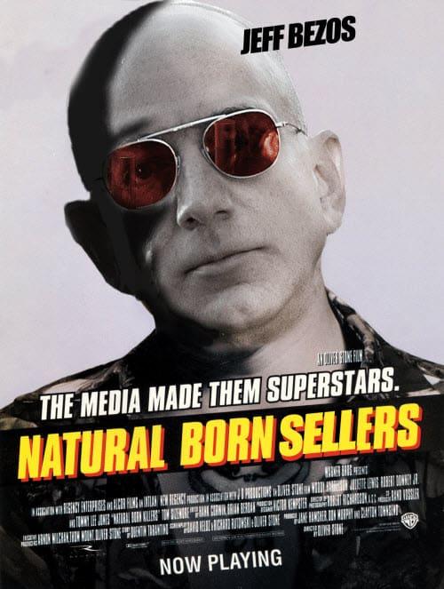 jeff bezos natural born sellers memes