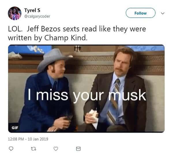 jeff bezos sexts memes