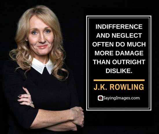 jk rowling apathy quotes