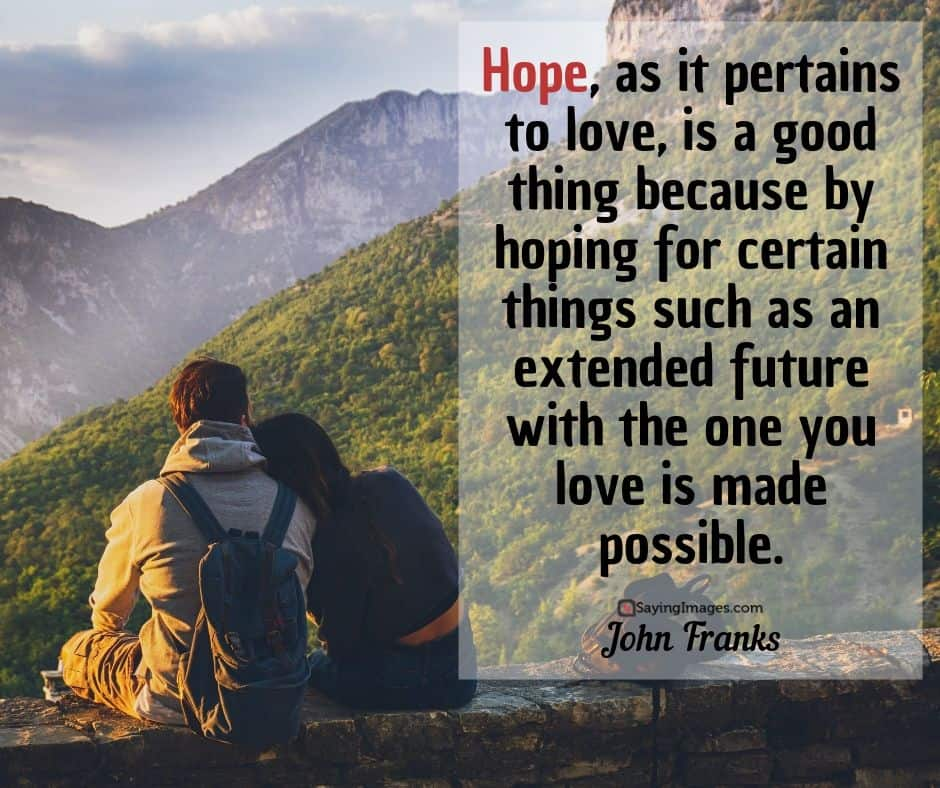 john franks hope quotes