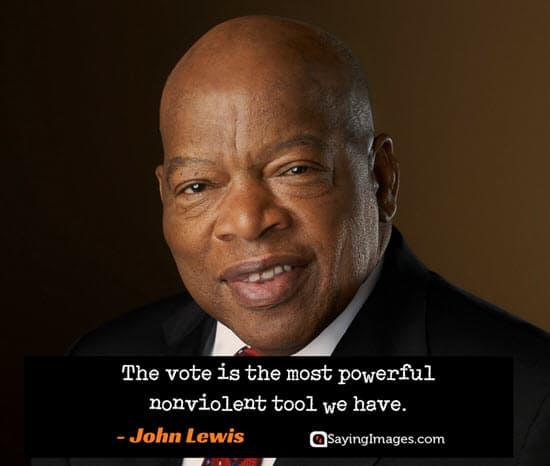 John Lewis Quotes: 20 Vote Quotes To Enlighten Your Mind